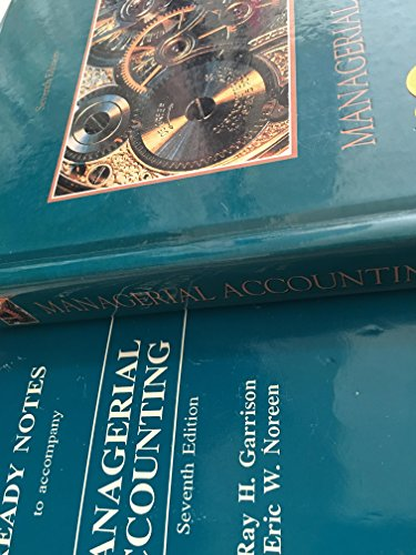 9780256110104: Managerial Accounting: Concepts for Planning, Control, Decision Making