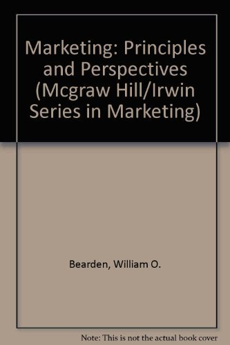 9780256113198: Marketing: Principles and Perspectives (Mcgraw Hill/Irwin Series in Marketing)