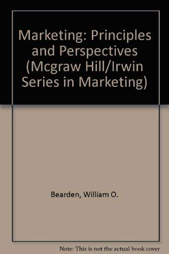 9780256113198: Marketing: Principles & Perspectives (Mcgraw Hill/Irwin Series in Marketing)