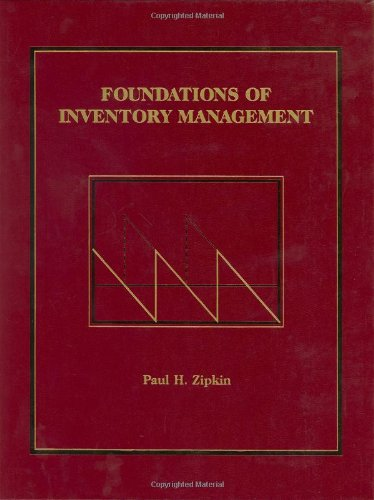 9780256113792: Foundations of Inventory Management