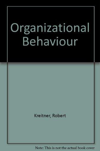 9780256113945: Organizational Behaviour