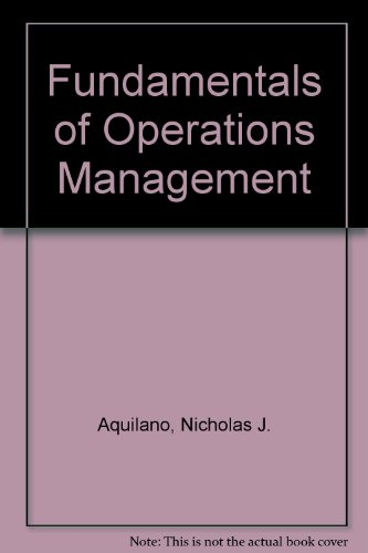 9780256113990: Fundamentals of Operations Management