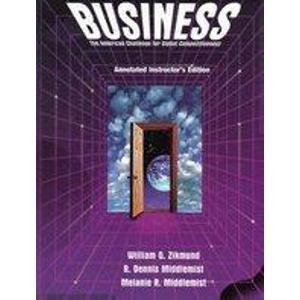Business: The American Challenge for Global Competitiveness: William G. Zikmund,