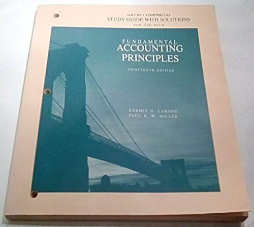 9780256114720: Fundamental Accounting Principles. 13th Edition. F.A.S.T. Edition.