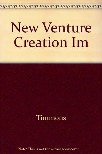 9780256115499: New Venture Creation Im