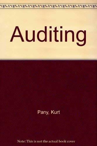 9780256116373: Auditing