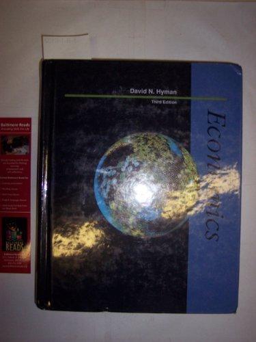 9780256117974: Economics (Irwin Series in Economics)