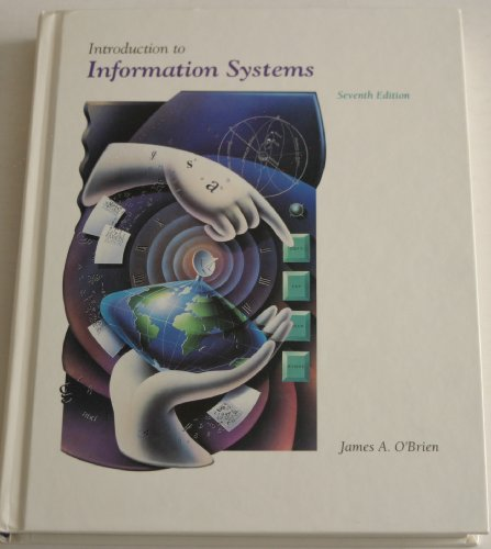 9780256118841: Introduction to Information Systems