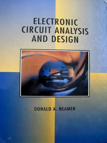 9780256119190: Electronic Circuit Analysis and Design