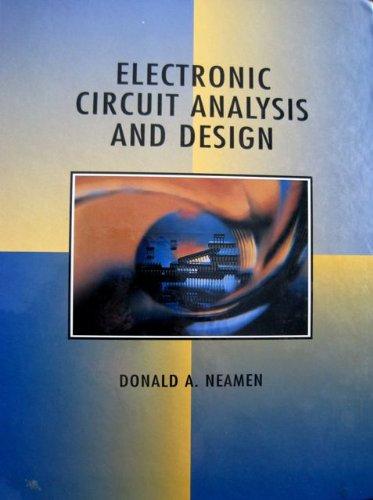 donald neamen electronic circuit analysis design abebookselectronic circuit analysis and design donald a neamen