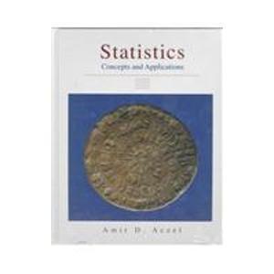 9780256119350: Statistics:Concepts and Applications