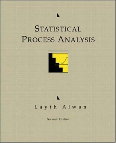9780256119398: Statistical Process Analysis