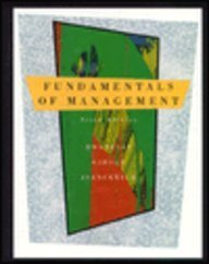9780256125405: Fundamentals of Management
