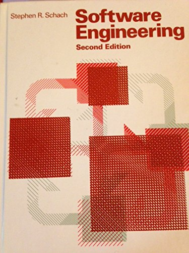 9780256129984: Software Engineering, Second Edition