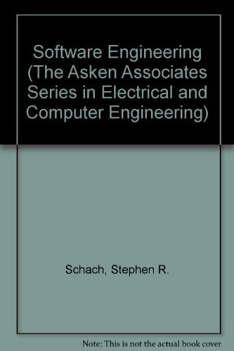 9780256129984: Software Engineering, Second Edition (The Asken Associates Series in Electrical and Computer Engineering)