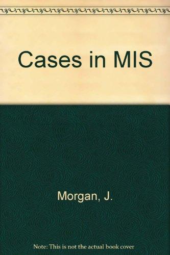9780256133899: Cases in MIS