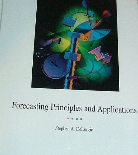 9780256134339: Forecasting Principles and Applications