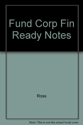 9780256135909: Fund Corp Fin Ready Notes