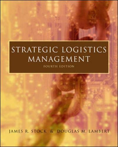 Strategic Logistics Management [Dec 01, 2000] Stock, James R. et Lambert, Dou.