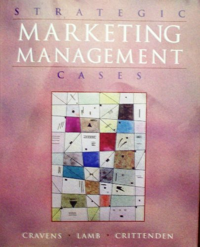 9780256136890: Strategic Marketing Management: Cases and Applications (The Irwin Series in Marketing)