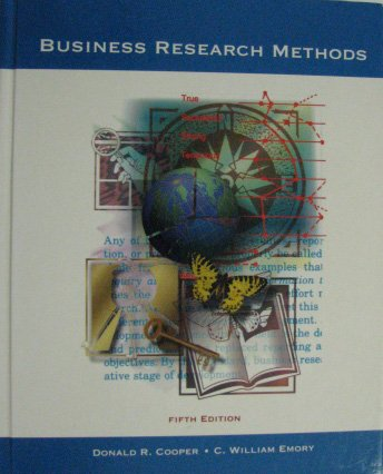 9780256137774: Business Research Methods (Irwin Series in Statistics)