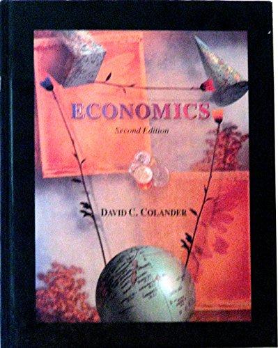 9780256137996: Economics (Irwin Series in Economics)