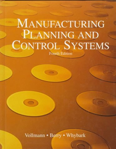 9780256138993: Manufacturing Planning and Control Systems