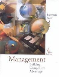 9780256140538: Management: Building Competitive Advantage