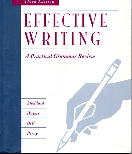 9780256141535: Effective Writing: A Practical Grammar Review