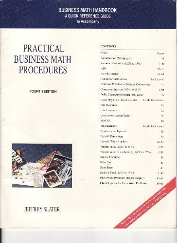 9780256145069: Practical Business Math Procedures Handbook