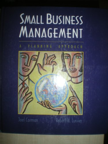 9780256145175: Small Business Management: A Planning Approach