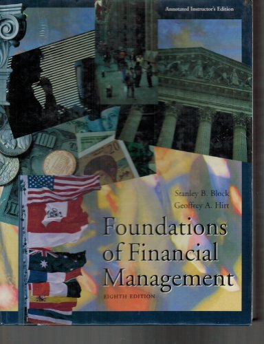 Foundations of Financial Management (The Irwin Series: Stanley B. Block,