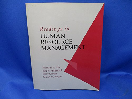 9780256148527: Readings in Human Resource Management