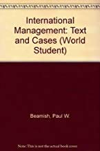 9780256156782: International Management: Text and Cases (World Student)
