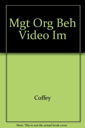 9780256157871: Mgt Org Beh Video Im