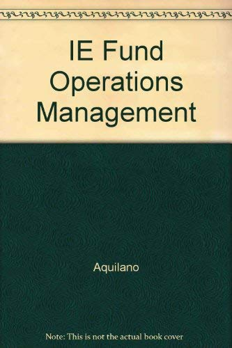 9780256159721: Fundamentals of Operations Management