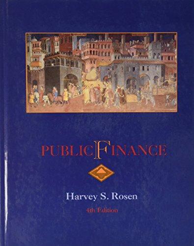 PUBLIC FINANCE HARVEY ROSEN PDF DOWNLOAD