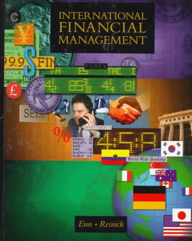 9780256160468: International Financial Management (Irwin/Mcgraw-Hill Series in Finance, Insurance and Real Estate)