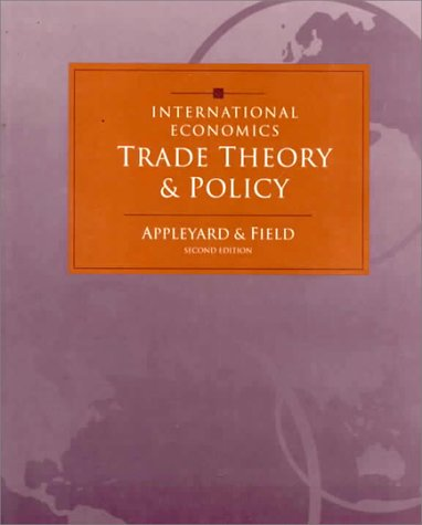 9780256161939: International Economics: Trade Theory and Policy