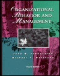 9780256162097: Organizational Behavior and Management