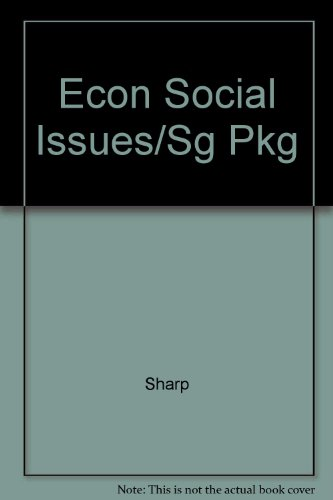 Econ Social Issues/Sg Pkg: Sharp