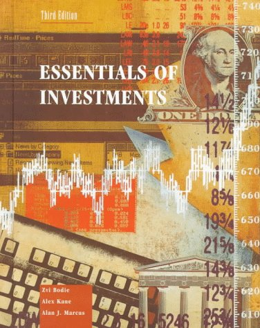 9780256164596: Essentials of Investments (Irwin Mcgraw Hill Series in Finance, Insurance and Real Estate)