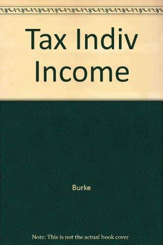 9780256164770: Tax Indiv Income