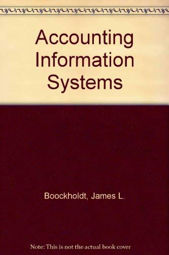9780256166804: Accounting Information Systems