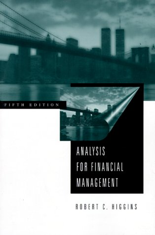 9780256167030: Analysis for Financial Management (Irwin/Mcgraw-Hill Series in Finance, Insurance, and Real Estate)