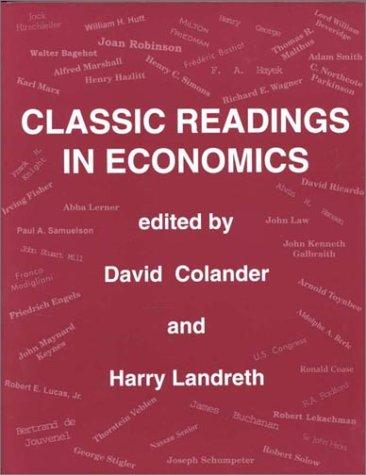 Economics Class Readings: Harry H. Landreth;