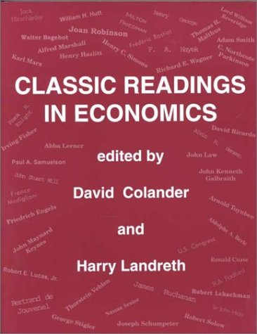 9780256168167: Classic Readings in Economics