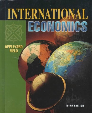 9780256171631: International Economics