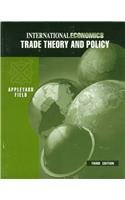 9780256171655: International Economics: Trade Theory and Policy
