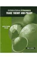 9780256171655: International Economics: Trade Theory and Policy